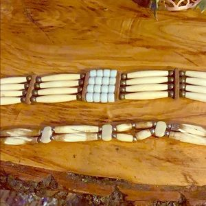 Jewelry - Vintage Indian chokers from powwow